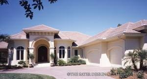 florida home design florida style house plans sater design collection home designs
