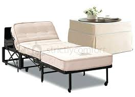 Convertible Ottoman Sofa Bed Ottoman Convertible Ottoman Bed Featuring Skirted Cover