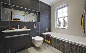 Material Mix These Tiny Home Bathroom Designs Will Inspire You - Grey bathroom designs