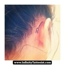 keke palmer ear tattoo design photos pictures and sketches