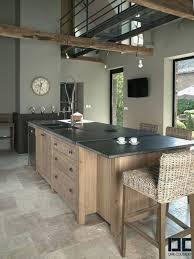 deco pour cuisine grise cuisine gris anthracite et bois awesome deco pour cuisine grise le