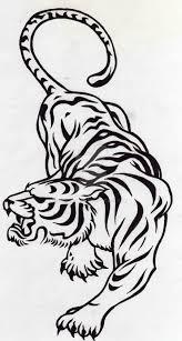 tribal tiger design by smp kitten on deviantart