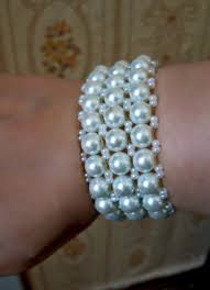 free pattern for bracelet snow click on link to get pattern http