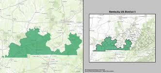 kentucky house map kentucky s 1st congressional district