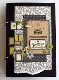 Flip Photo Album Insertion De Petits Formats Sans Photo Scrapbooking Pinterest