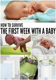 Baby Shower Tips For New Moms by How To Survive The First Week Home With Baby Babies Pregnancy