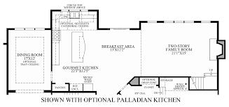 Kitchen Floor Plans Designs by Estates At Mill Creek Ridge The Champlain Home Design