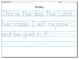 free handwriting worksheets kindergarten free free a z