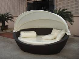 Daybed With Canopy Household Gallery Household Gallery Rattan Outdoor Daybed With