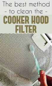 the best method to clean the cooker hood filter cleaning ideas com