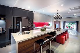 kitchen with islands designs 14 kitchen island designs that fit singapore homes lookboxliving