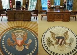 oval office rug the obama oval office makeover and décor in the white house