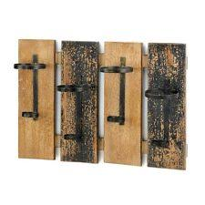 wall mounted rustic wine rack bottle holder bar kitchen hold 4