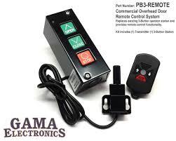 Overhead Door Remote Pb3 Remote Gama Electronics