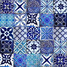 Moroccan Tile Bathroom Marrakesh Moroccan Tiles Blue Random Pinterest Marrakesh