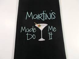 martini bar decor martinis made me do it martini lover gift 10 dollar gift fun