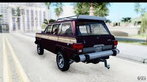 jeep grand wagoneer custom jeep grand wagoneer for gta san andreas