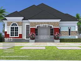 Bungalow House With 3 Bedrooms by Bungalow House Plans Designs Nigeria Escortsea