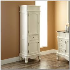 White Bathroom Linen Cabinet Linen Cabinets Bathroom Cabinets - Antique white bathroom linen cabinets