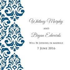 marriage invitation cards online create your own wedding invitations online for free