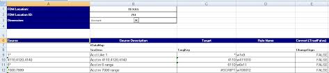 Data Mapping Template Excel Downloading An Excel Template Mapping Template