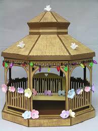 miniature gazebo for dollhouse quarter by lindairwincottages