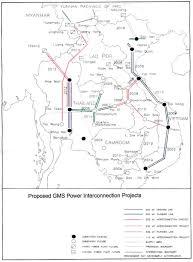 Grid Map Mekong Power Grid International Rivers