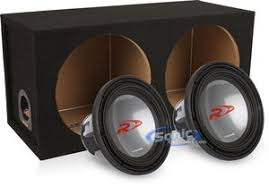 bass package alpine swr 1242d subwoofer sonic sub box 2sl1215