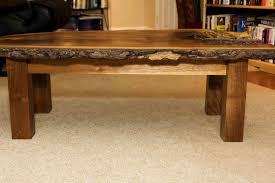 Rustic Walnut Coffee Table Handmade Walnut Coffee Table By Design By Jeff Spugnardi