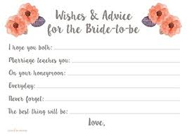 Bride Cards Amazon Com Bridal Wishes And Advice Cards For Bride To Be 50