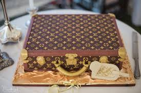 louis vuitton suitcase wedding cake cake by mj u0027s cakes cakesdecor