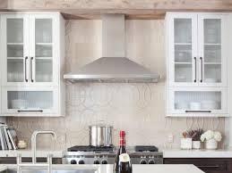 decorative backsplash behind stove tags adorable kitchen