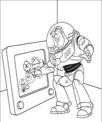 buzz drawing toy story coloring pages boys coloring pages