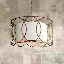 sausalito 25 wide silver gold pendant light the 7 best images about lighting on pinterest worldly gray fabric