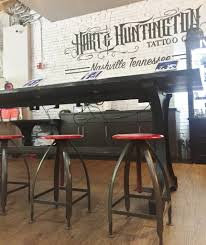 tattoo shop offers mashup of modern industrial rustic blog