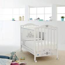 Off White Baby Crib by Majestic Design Ideas Pali Furniture Plain Decoration Baby