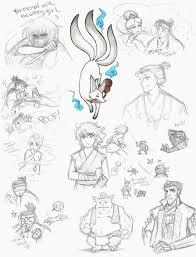 strange magic sketches pt2 japan au by kiyomi chan16 on deviantart