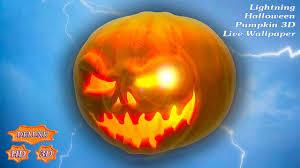 lightning halloween pumpkin 3d android apps on google play