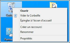 supprimer corbeille bureau ccleaner supprimer les raccourcis du menu contextuel de la corbeille