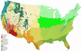 Hummingbird Map Average Precipitation In The Lower 48 States Of The United States
