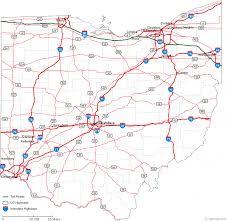 map of ohio map of ohio