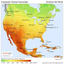 anerica map free solar resource maps solargis