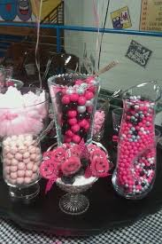 Pink And Black Candy Buffet by 31 Best Gymnastics Banquet Images On Pinterest Marriage Parties