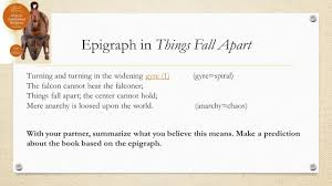 quotes about unoka things fall apart day five english ppt download