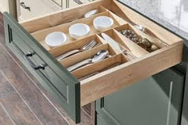 kitchen cabinet drawer peg organizer medallion cabinetry tableware