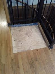 repair is it possible to replace this board in the floor with