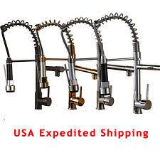 deck mount kitchen faucet pull kitchen faucet ebay