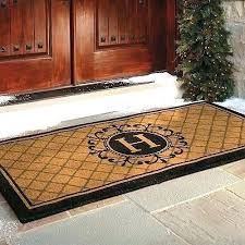 Exterior Door Mat Oversized Front Door Mats Popular Icedteafairy Club With 14