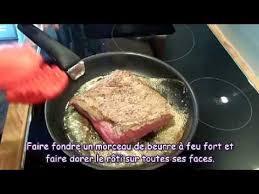 cuisiner un rosbeef comment cuire un rosbeef