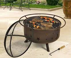 Outdoor Fireplace With Cooking Grill by Best 25 Cowboy Fire Pit Ideas On Pinterest Cowboy Grill Fire